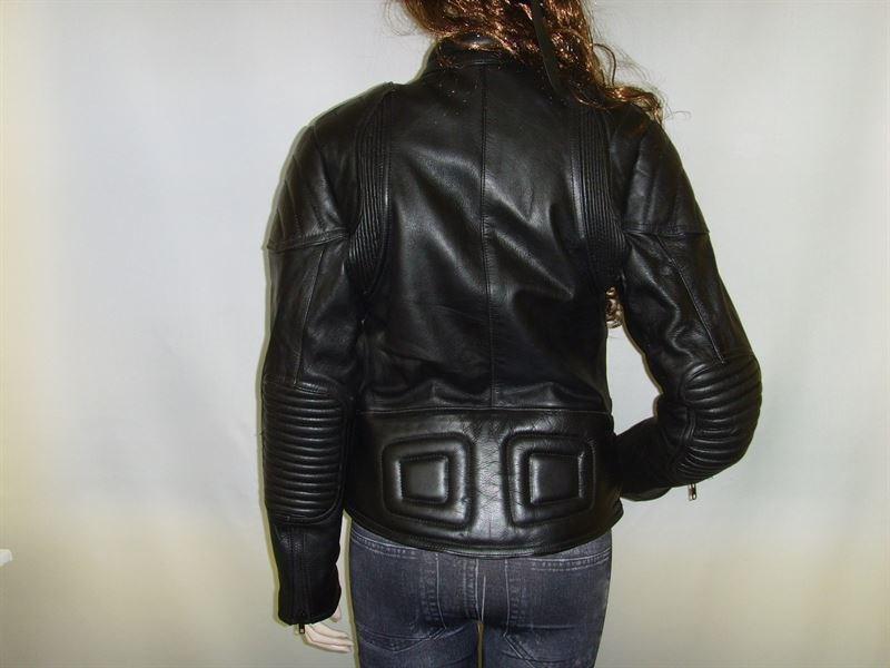 Chaquetas piel moto custom